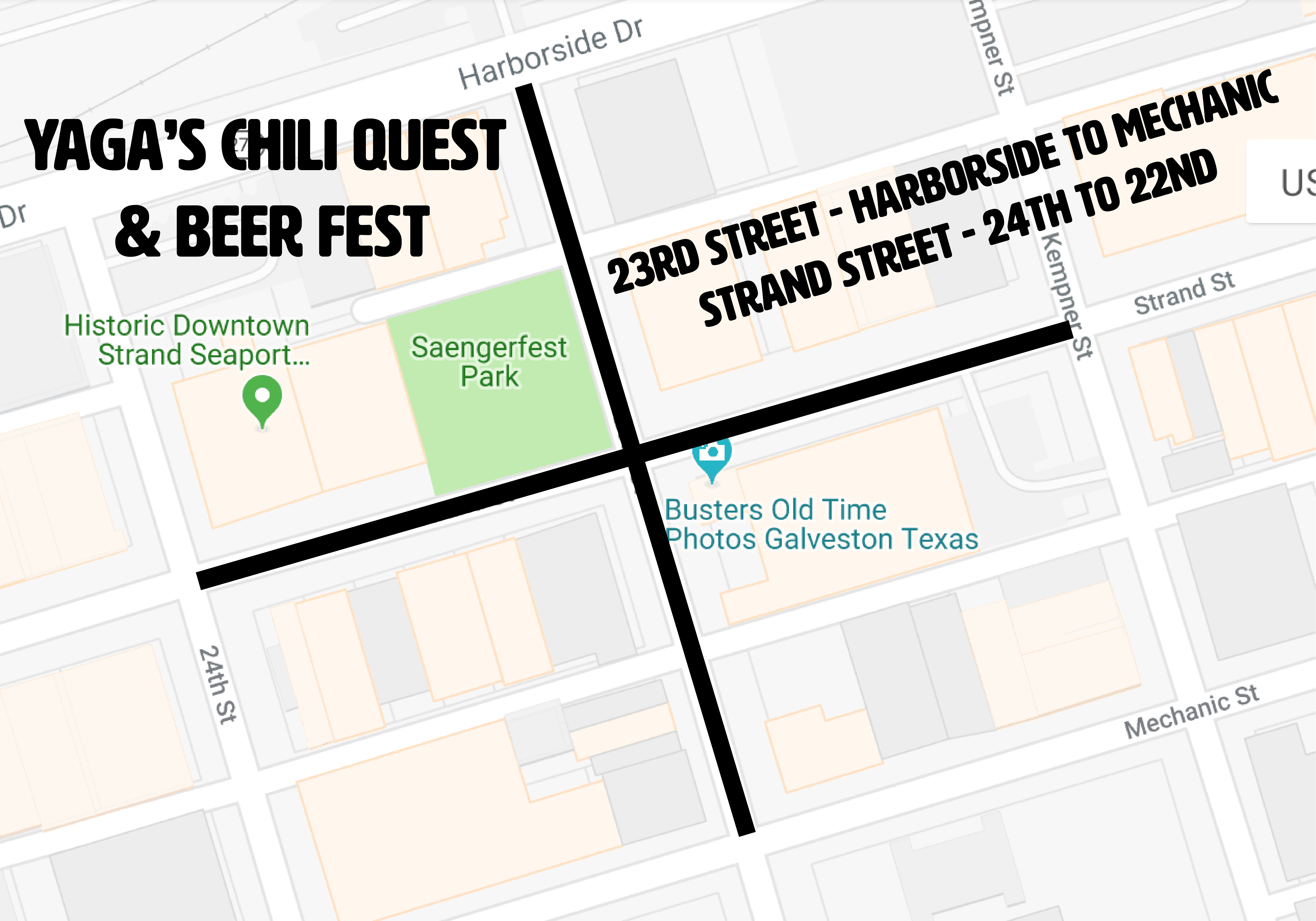 VIP Sweepstake - Yaga's Chili Quest and Beer Fest